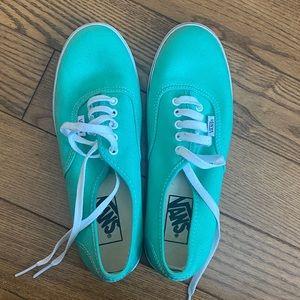 Vans green